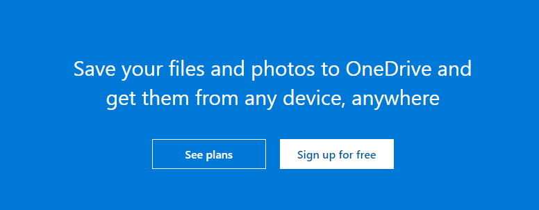 Microsoft One Drive: File sharing site
