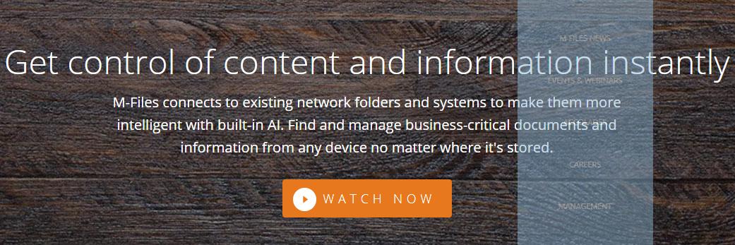 M-files: Content collaboration platform