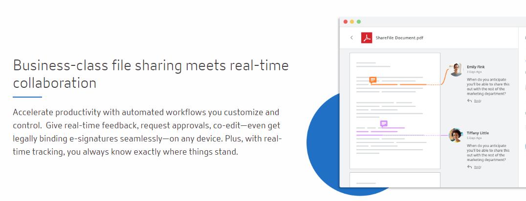 Sharefile: Content collaboration platform