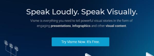 Visme: Tool for design collaboration