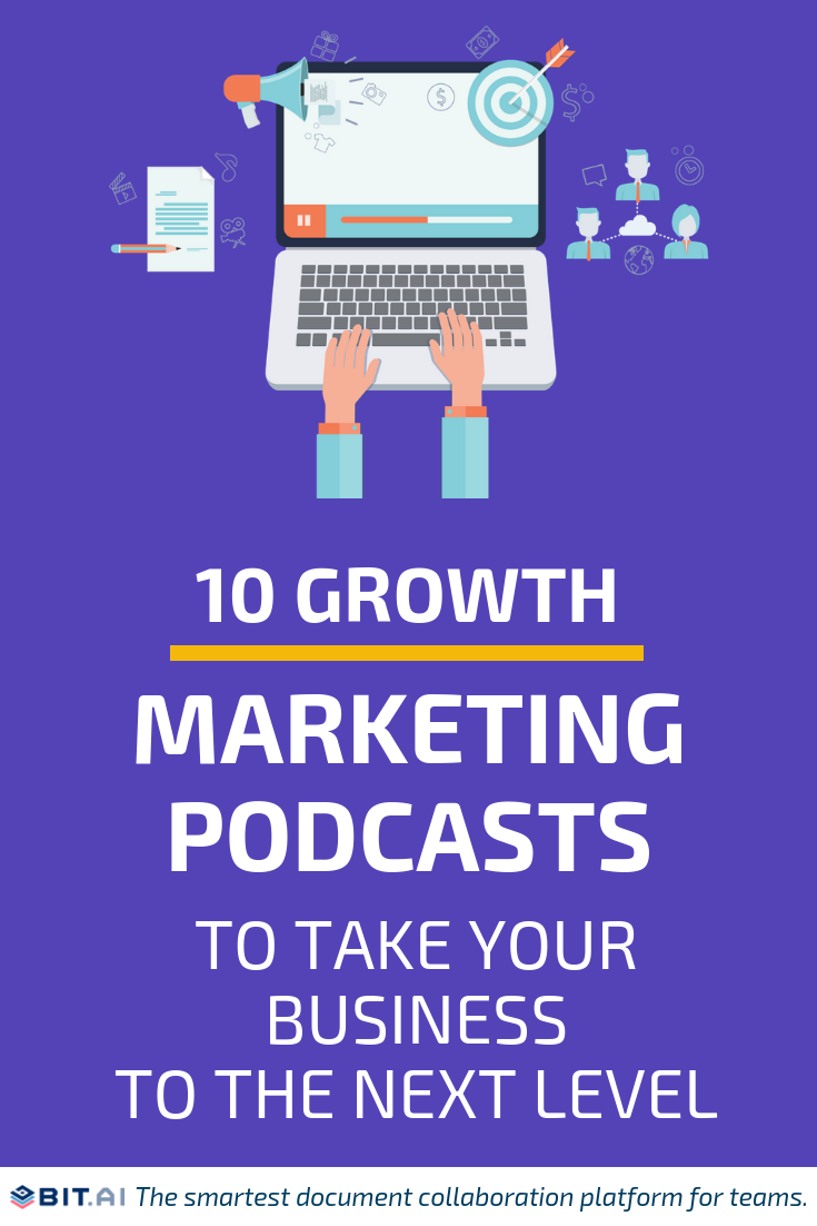 10 Best Marketing Podcasts to Improve Your Marketing Skills - Growth Pocast (PIN)
