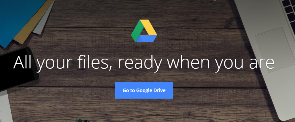 Google drive: File sharing site