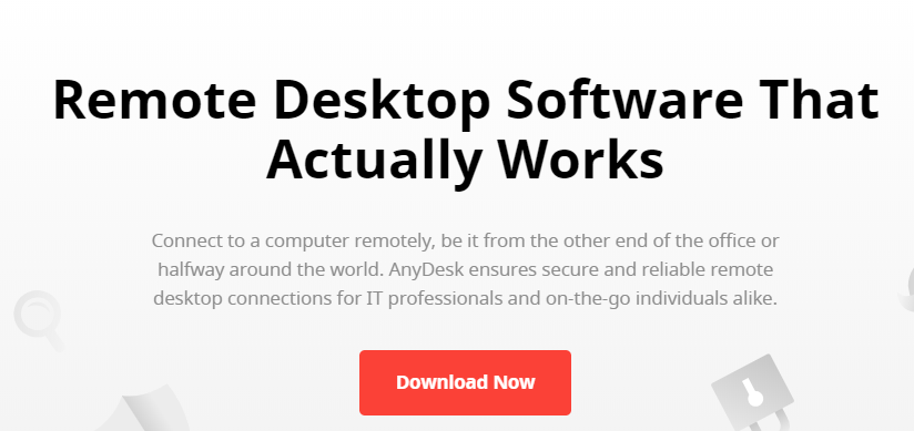 Anydesk: Screen sharing software