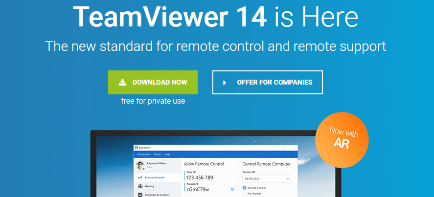 TeamViewer: Screen sharing software
