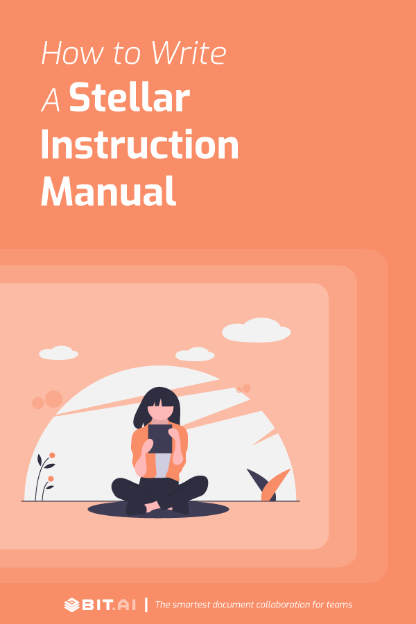 How to write a stellar instruction manual - Pinterest image