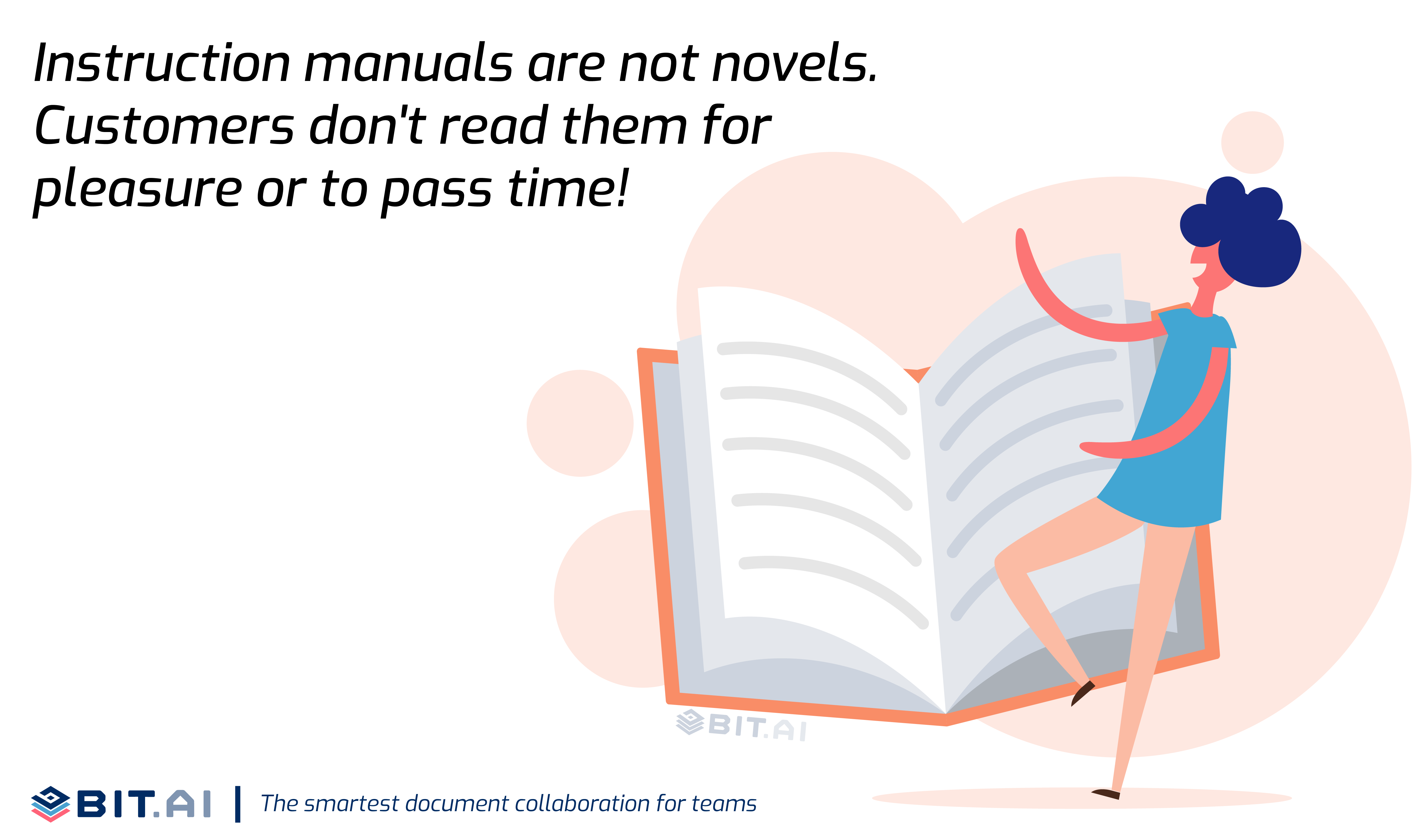 Quote illustration on instruction manual