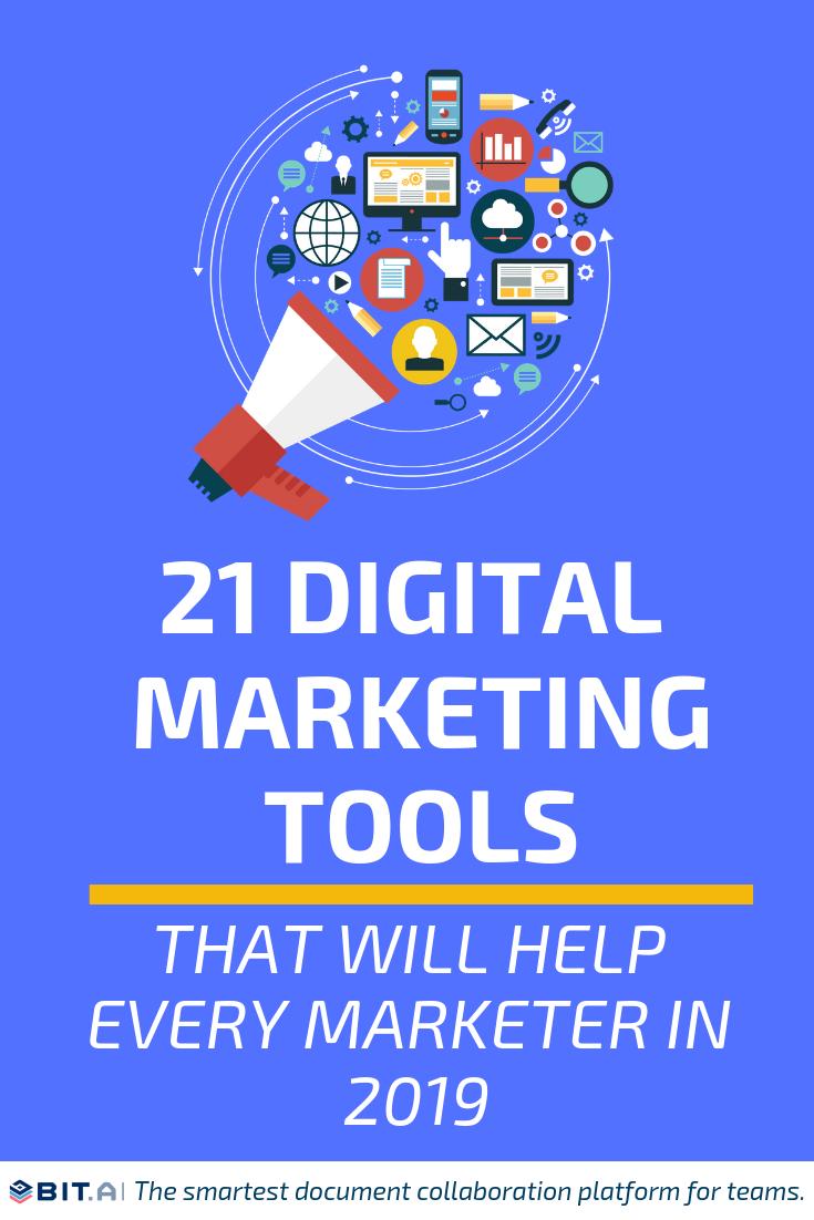 Digital marketing Tools (PIN)