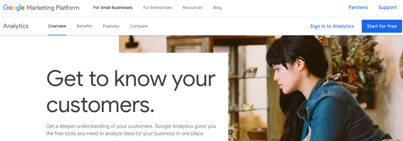 Google analytics for digital marketing