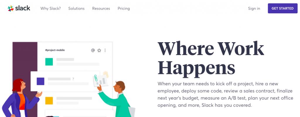 Slack: Productivity and communication tool