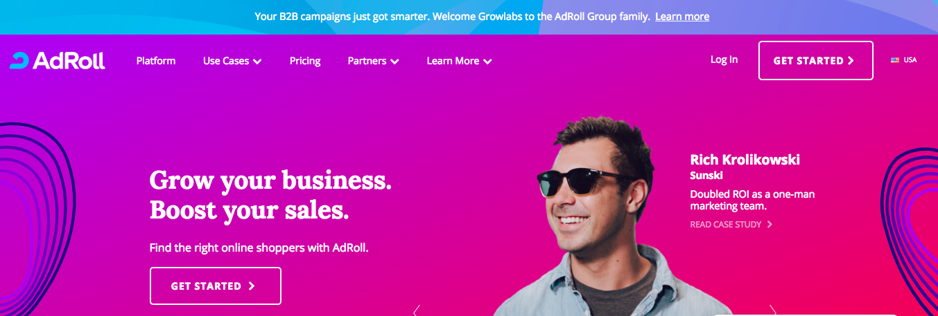 Adroll : Digital Marketing Tool