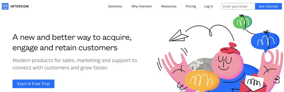 Intercom: Tool for sales and marketing