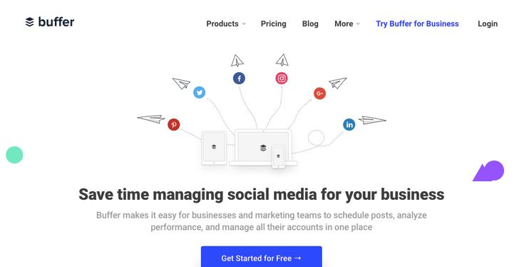 Buffer: Tool for sales and marketing
