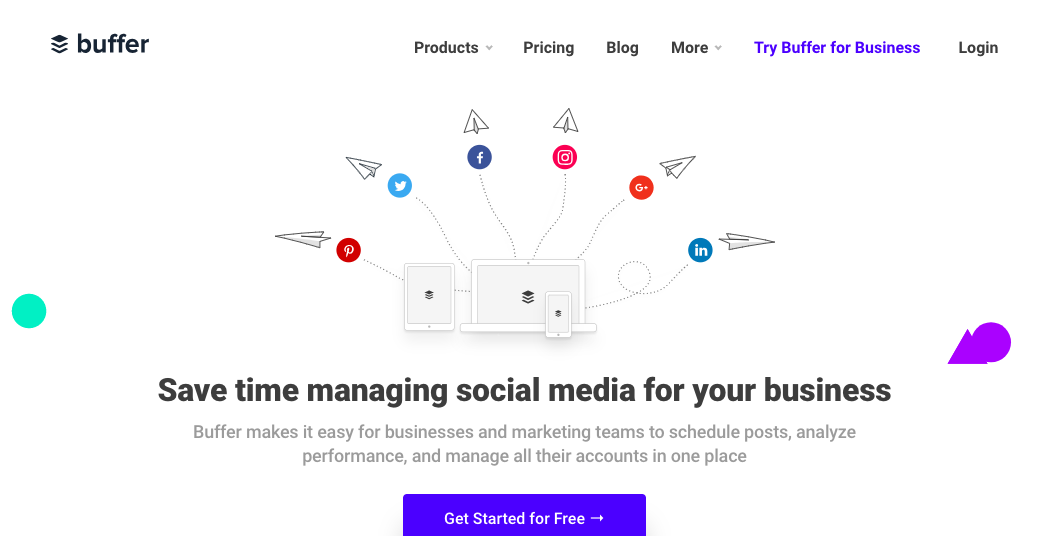 Buffer - Social Media Management Tool