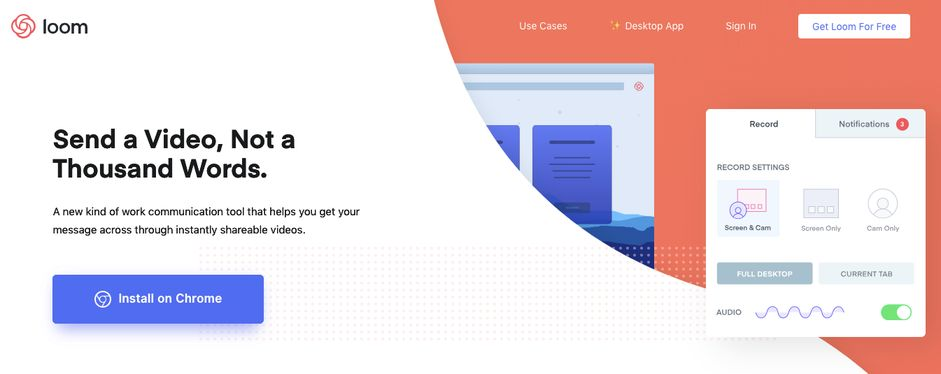 Loom: Tool for creating videos
