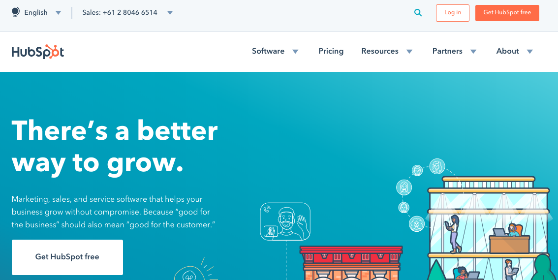 Hubspot: Sales and marketing tool