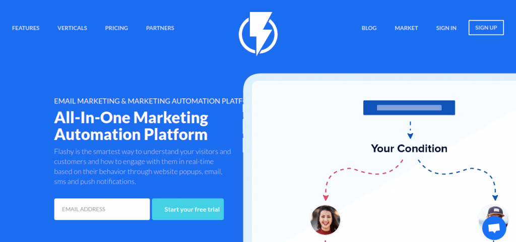 Flashyapp : Digital marketing tool