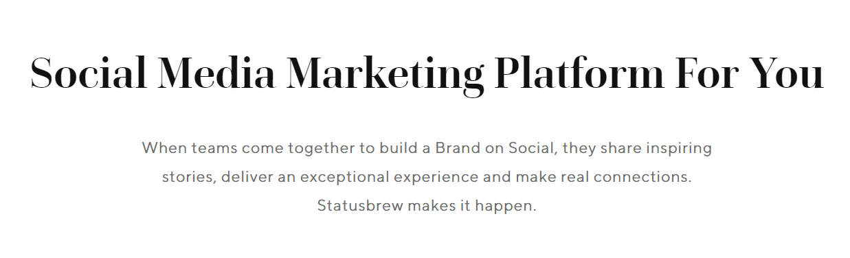 Statusbrew : Digital Marketing Tool