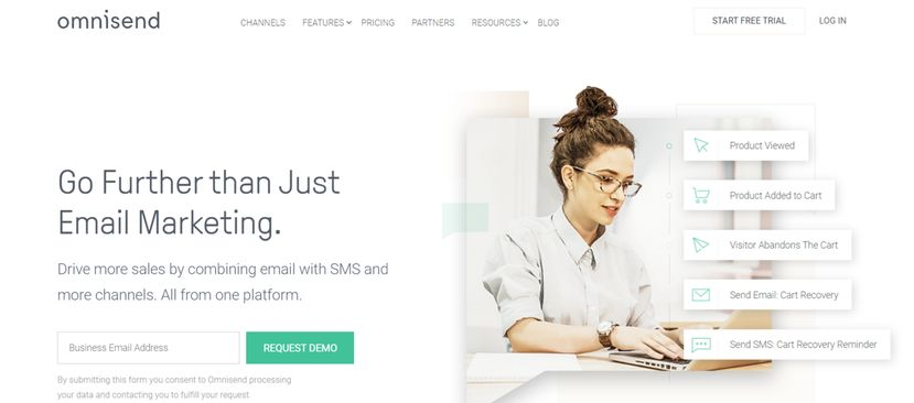 Omnisend: Tool for sales and marketing
