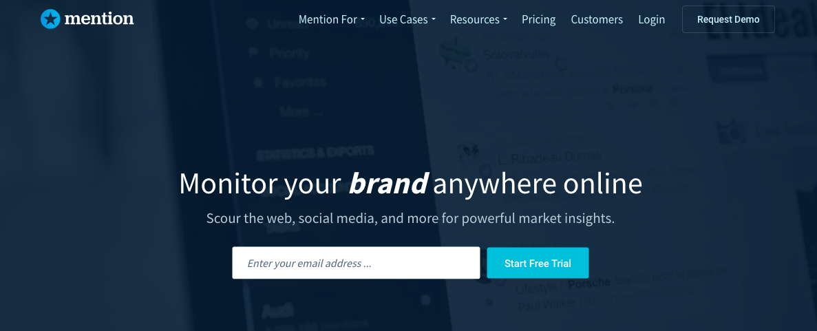 Mention - Social Media Management Tool