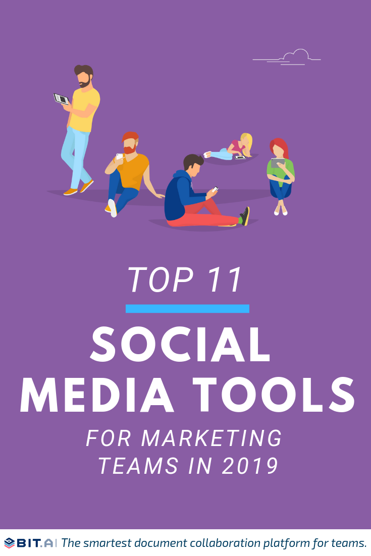 Social Media Management Tools - Pinterest image