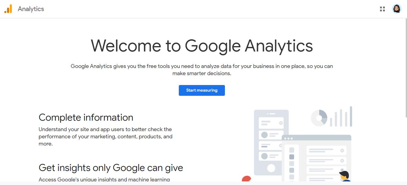 Google analytics: Saas tool