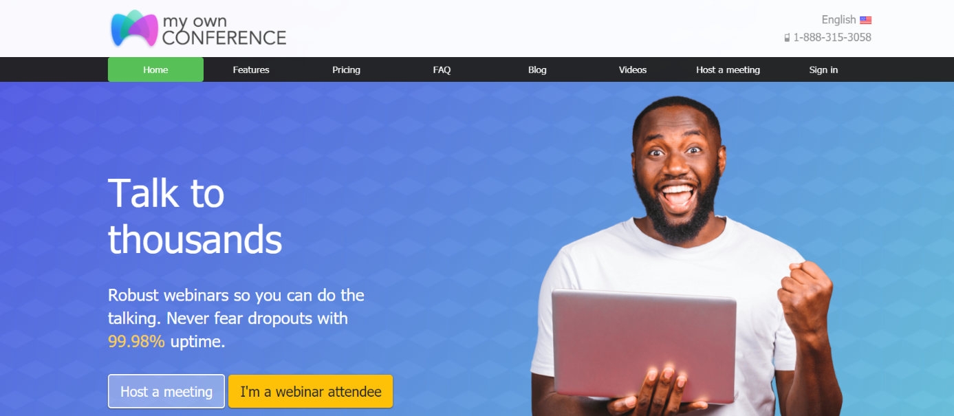 Myownconference: Video conferencing software