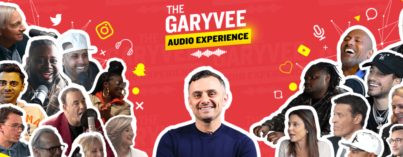 Garyvee audio experience podcast for learning social media marketing