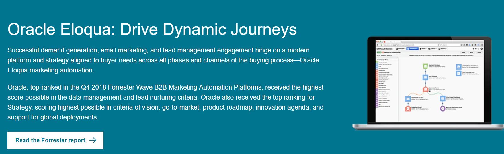 Oracle Eloqua: Marketing automation tool
