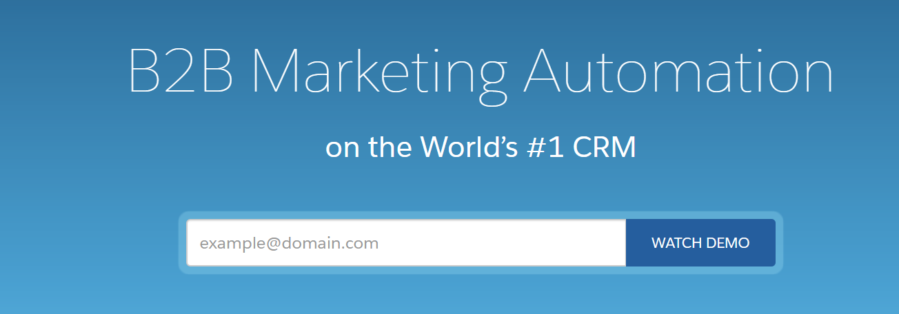 Pardot: Marketing automation tool