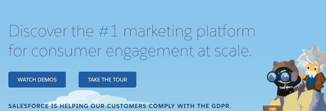 Salesforce Marketing Cloud: Marketing Automation Tool