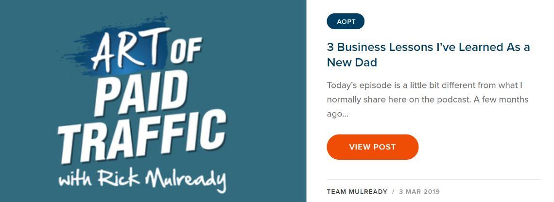 The Art of Paid Traffic: Social media marketing podcast