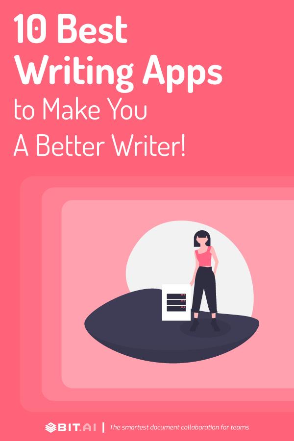 Writing apps - pinterest
