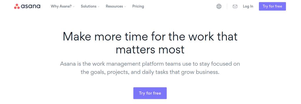 Asana: Workplace collaboration tool