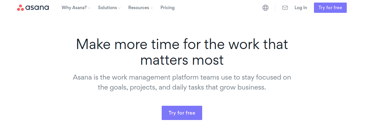 Asana: Workplace collaboration tool