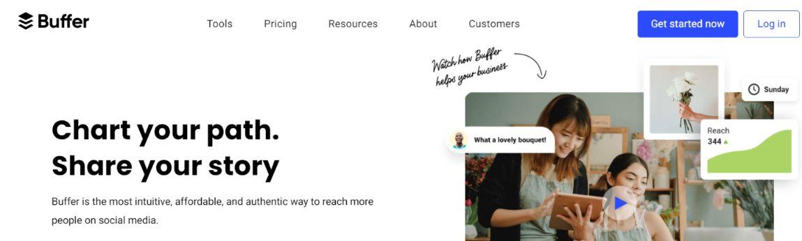 Buffer: Social media management tool