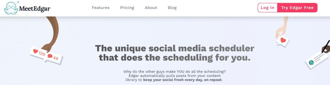 Meet edgar: Social media management tool