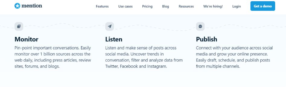 Mention: Social media management tool