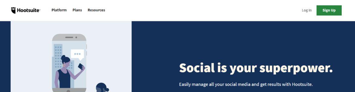 Hootsuite: Social media management tool