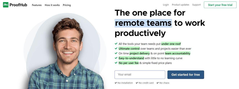Proofhub: Productivity tool