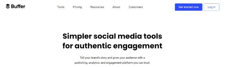 Buffer: Marketing automation tool