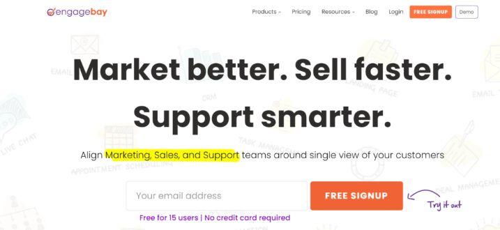 Engagebay: Marketing automation tool