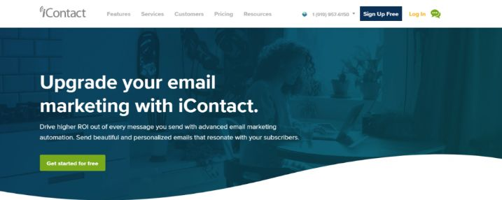 iContact: Marketing automation tool