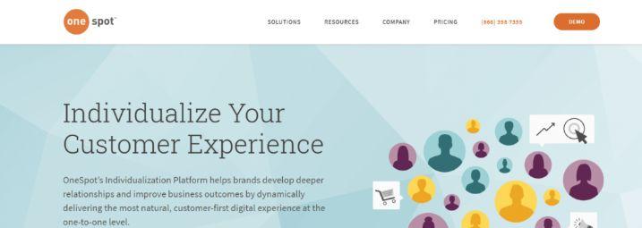 Onespot: Marketing automation tool