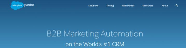 Pardot: Marketing automation tool