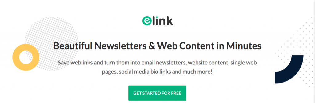Elink.io: Content creation tool