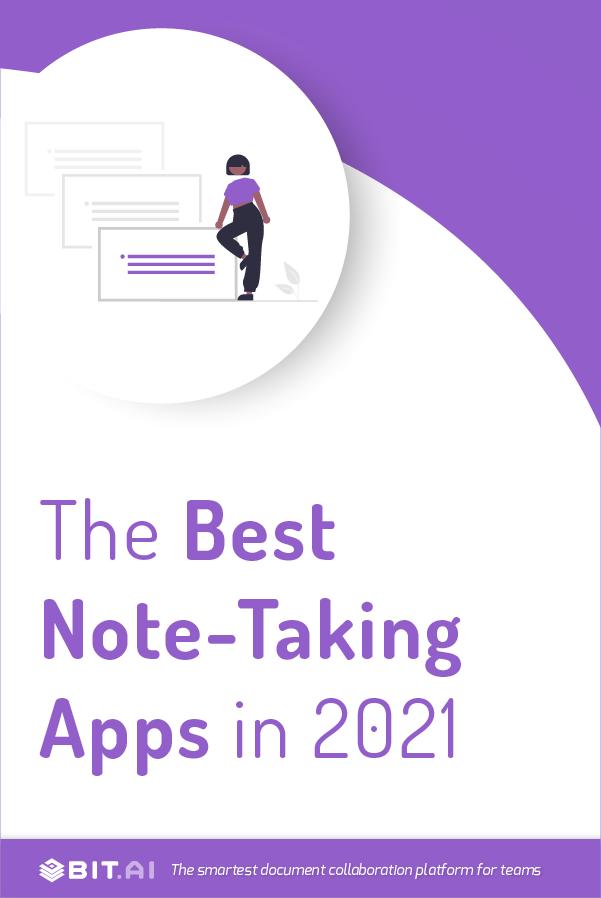 Note taking apps - Pinterest
