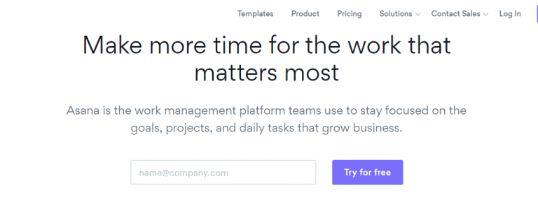 Asana: Project management software