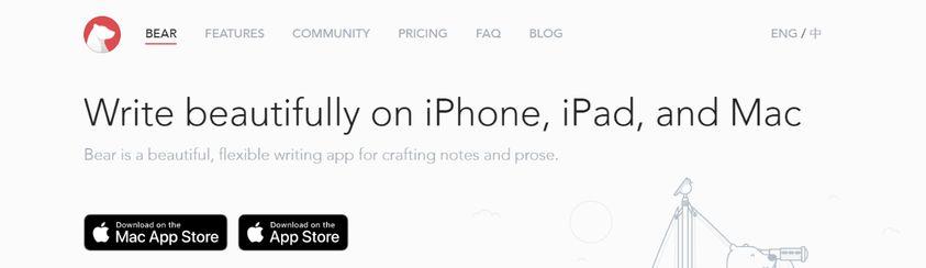 Bear: To do list app