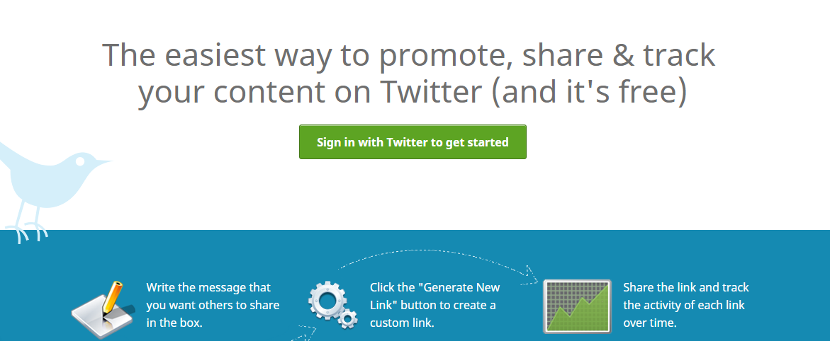 Click to tweet : Growth hacking tool