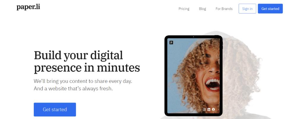 Paper.li: content curation tool